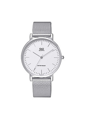 Đồng hồ nam Q&Q QA20J201Y dây kim loại thương hiệu Nhật Bản