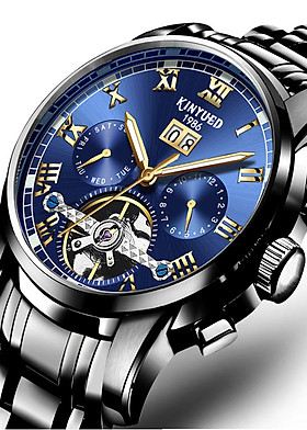 Đồng hồ cơ nam KINYUED j014, thời trang cao cấp, siêu bền, chạy full kim, full box