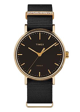 Đồng hồ Nữ dây vải Timex Fairfield Crystal 37mm - TW2R49200