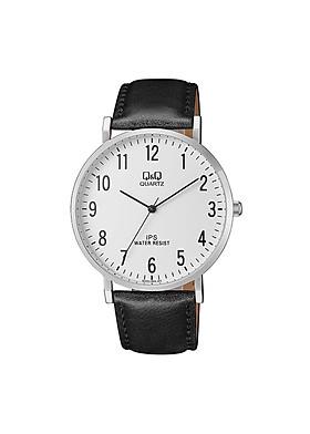 Đồng hồ nam Q&Q Citizen QZ02J304Y dây da thương hiệu Nhật Bản