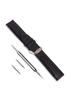 Dây da đồng hồ SAM Leather SAM101DBW - Dây đeo đồng hồ da bò cao cấp