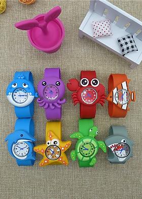 Đồng hồ Silicon hoạt hình ngộ nghĩnh đáng yêu cho bé