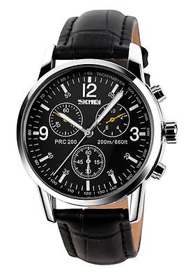 Đồng hồ nam dây da Skmei 90TCK70