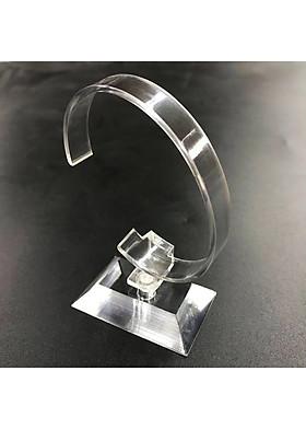 Đế trưng bày đồng hồ mica xoay 360º gọng dẻo DT01