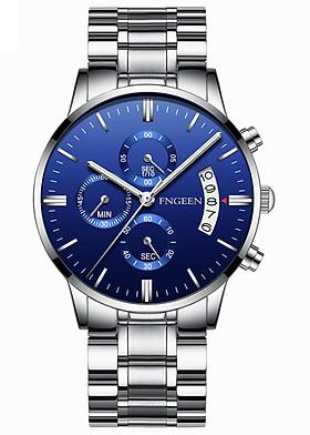 Đồng hồ nam FNGEEN F078 doanh nhân 2019 dây thép  cao cấp