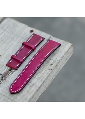 Dây da đồng hồ nữ ANDI900 thủ công handmade da bò 100% đẹp và sang trọng