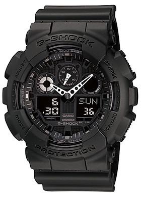 Đồng hồ nam dây nhựa Casio G-SHOCK GA-100-1A1DR
