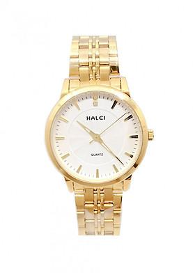 Đồng hồ Nam Halei - HL55200 Dây vàng