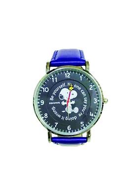 Đồng hồ đeo tay Snoopy mặt đen