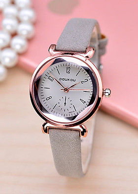 Đồng hồ nữ thời trang Hàn Quốc DOU3407 - Tặng vòng đeo tay Titan