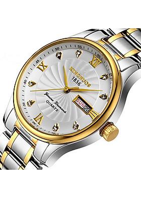 Đồng hồ nam KINGNUOS 5676 Dây thép không gỉ cao cấp