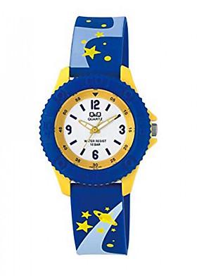 Đồng hồ trẻ em Q&Q Citizen VQ96J018Y dây nhựa thương hiệu Nhật Bản