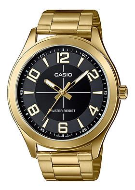Đồng Hồ Nam Dây Thép Casio MTP-VX01G-1BUDF (45mm) - Vàng