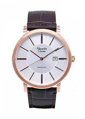 Đồng hồ đeo tay hiệu Alexandre Christie 8344MDLRGSL