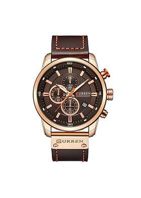 Đồng hồ thời trang nam dây da cao cấp Curren 8291