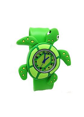 Đồng hồ Silicon Rùa Xanh đáng yêu cho bé