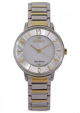 Đồng hồ CITIZEN EM0524-83A Nữ Dây Kim Loại Eco-Drive 31mm