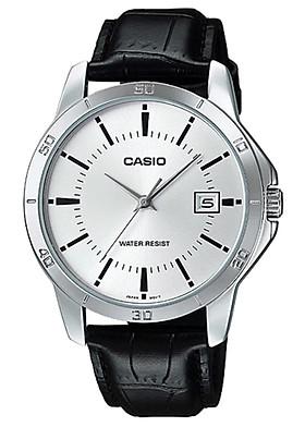 Đồng hồ nam dây da Casio MTP-V004L-7AUDF