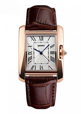 Đồng hồ nữ dây da Skmei 1085