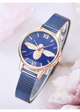 Đồng hồ nữ Aborni Ong Xanh Navy