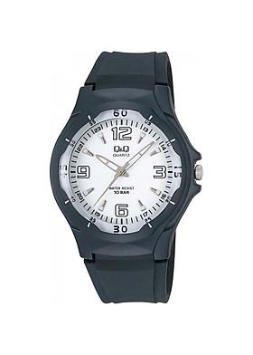 Đồng hồ nam thể thao Q&Q VP58J004Y kim dạ quang dây nhựa thương hiệu Nhật Bản