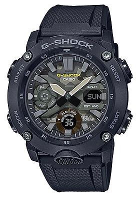 Đồng hồ nam dây nhựa Casio G-Shock chính hãng GA-2000SU-1ADR