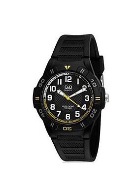 Đồng hồ nam thể thao Q&Q GW36J002Y kim dạ quang, dây nhựa thương hiệu Nhật Bản