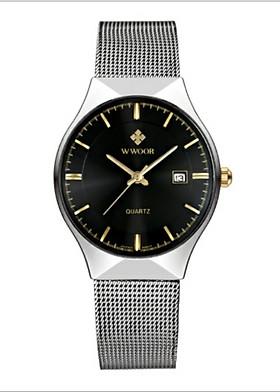 Đồng hồ nam Wwoor 8016 fullbox chống nước tốt