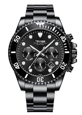Đồng hồ cơ nam Tevise tọa độ T823A dây đúc đặc chạy full kim - Fullbox chính hãng