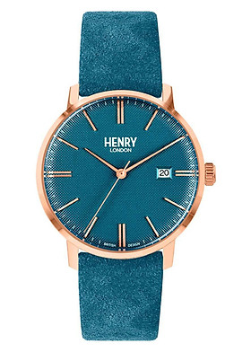 Đồng Hồ Unisex Henry London HL40-S-0372 - Dây Da