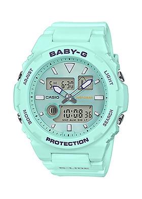 Đồng hồ nữ dây nhựa Casio Baby-G chính hãng BAX-100-3ADR