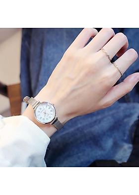 Đồng hồ dây da thời trang lamina đẹp DH41