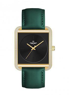Đồng hồ nữ dây da cao cấp SRWATCH SL8581.1404