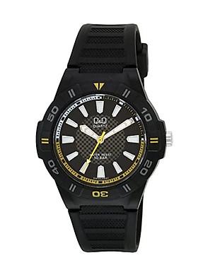 Đồng hồ nam thể thao Q&Q GW36J008Y kim dạ quang, dây nhựa thương hiệu Nhật Bản