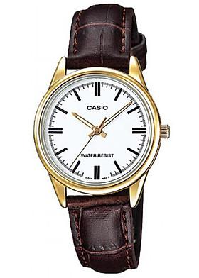 Đồng hồ nữ dây da Casio LTP-V005GL-7AUDF