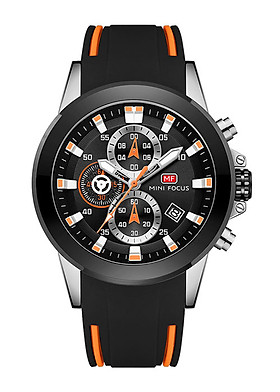 Đồng hồ nam chống nước kiểu dáng thể thao MINI FOCUS 0287G | Tặng hộp da cao cấp - Hàng nhập khẩu