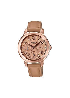 Đồng hồ nữ Casio Sheen chính hãng SHE-3059PGL-5AUDR