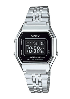 Đồng hồ nữ Casio điện tử LA680WA-1BDF (29mm)