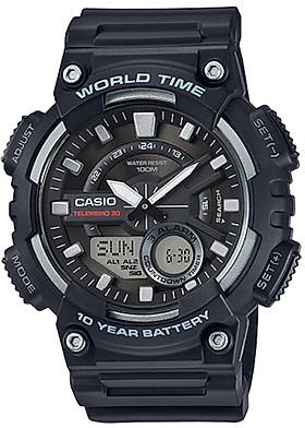 Đồng hồ nam dây nhựa Casio AEQ-110W-1AVDF
