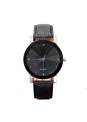 Đồng hồ nam nữ thời trang đeo tay dây da phong cách Hàn Quốc siêu hot DH96