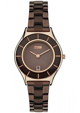 Đồng hồ đeo tay hiệu Storm SLIMRIM BROWN