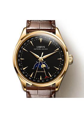Đồng hồ nam chính hãng LOBINNI L16012-5 (Đồng hồ cơ Moon Phase)