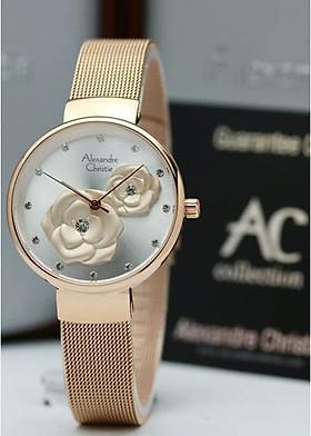 Đồng hồ đeo tay hiệu Alexandre Christie 2792LHBRGSL
