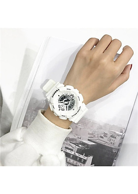 Đồng hồ nam nữ thể thao dây nhựa trẻ trung nhiều màu SHHORS DH68