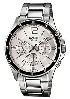Đồng hồ nam dây kim loại Casio MTP-1374D-7AVDF