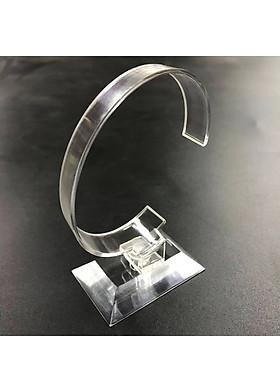 Combo 2 Kệ trưng bày đồng hồ đeo tay mica gọng dẻo xoay 360º DT01