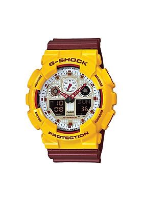 Đồng hồ Casio Nam G Shock GA-100CS-9ADR