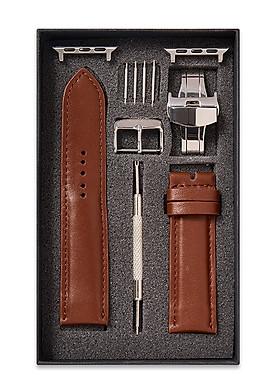 Dây Đồng Hồ SAM Leather SAM007ABV - Dây Da Đồng Hồ Apple 38/40 – 42/44, Dây Đồng Hồ Da Bò Size 20mm/22mm, lựa chon nhiều màu sắc, dây đeo đồng hồ phù hợp các loại ( Swatch, Apple 1,2,3,4,5, Iwatch và đồng hồ cổ điển )