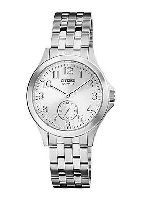 Đồng hồ Nữ Citizen dây kim loại pin kính cứng EQ9050-57A
