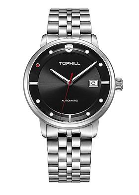 Đồng hồ nam máy cơ tự động chính hãng Thụy Sĩ TOPHILL TW073G.S1188